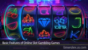 Basic Features of Online Slot Gambling Games